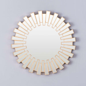 'Connaught' Contemporary Round Mirror