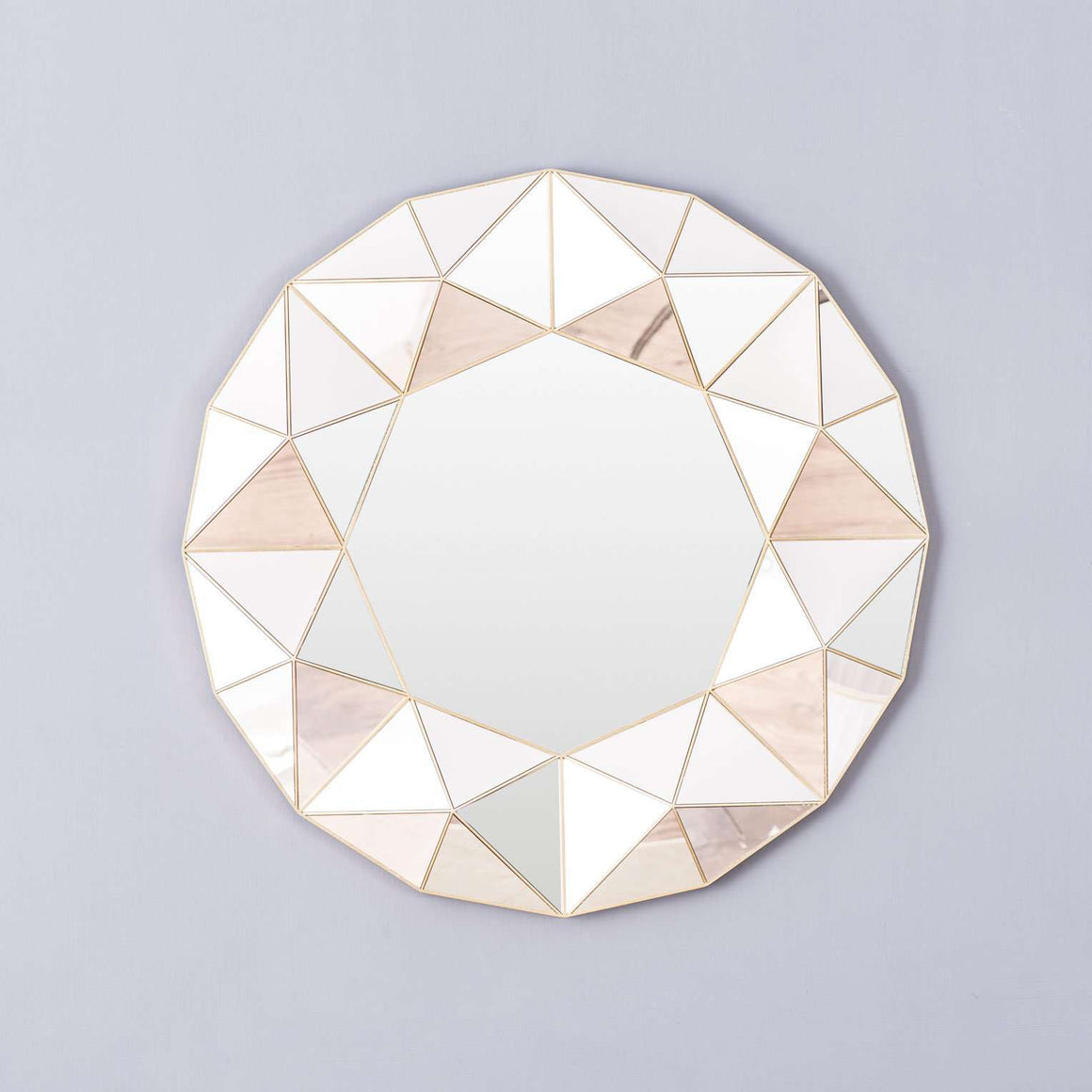 'Sparkle' Contemporary Round Mirror