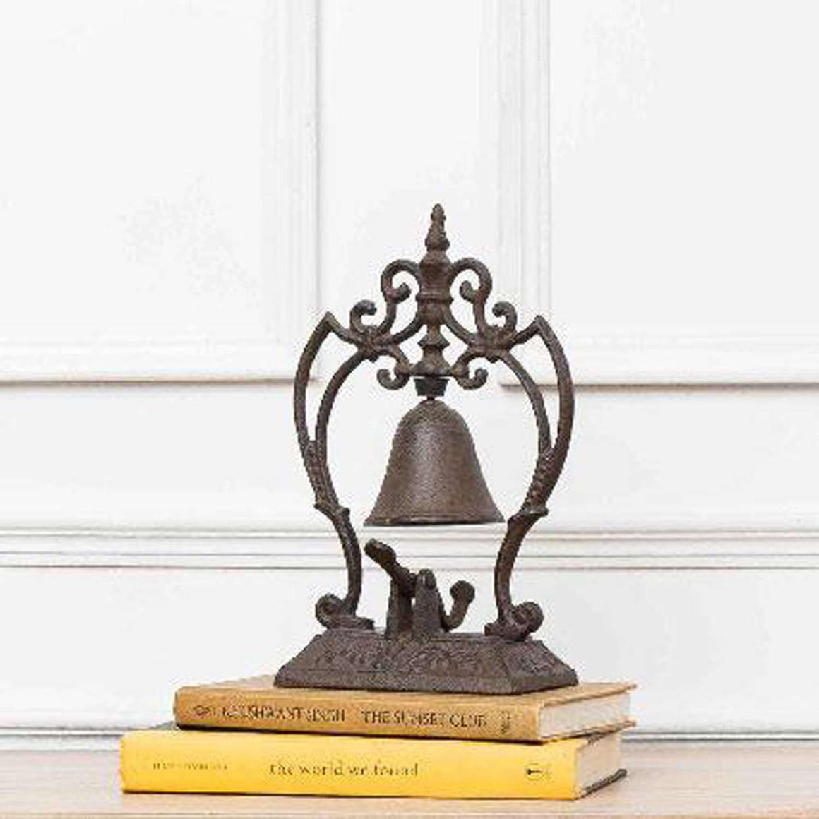 The Gateway - Rustic Cast Iron Desk Bell