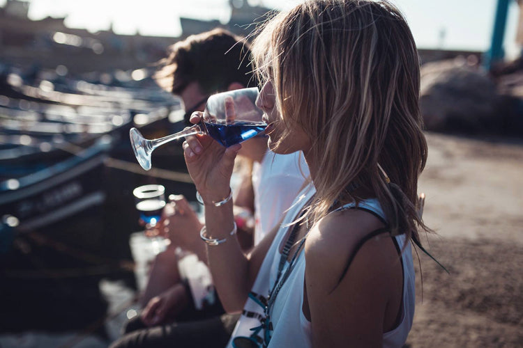 Blue Wine Is A Very Real Thing That Is Coming To America