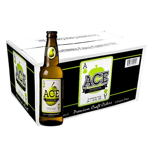 ACE PEAR (24 BOTTLE CARTON)