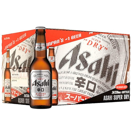 ASAHI SUPER DRY (24 BOTTLE CARTON)