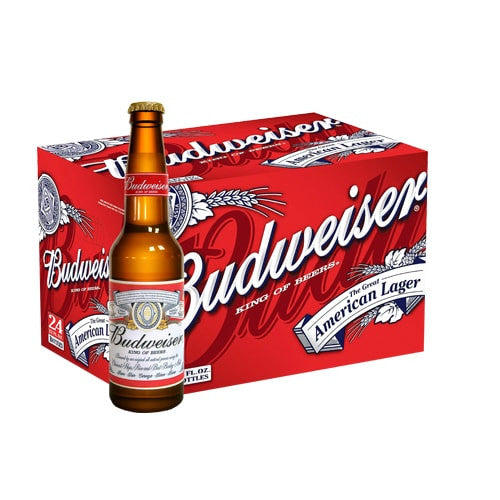 BUDWEISER (335ml x 24 BOTTLE CARTON) | Beer | NOX EXPRESS