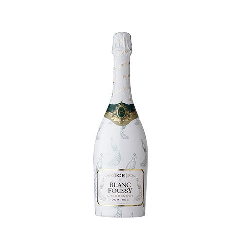 ICE BY BLANC FOUSSY CHARDONNAY (DEMI-SEC) 750ml | Sparkling Wine | NOX EXPRESS