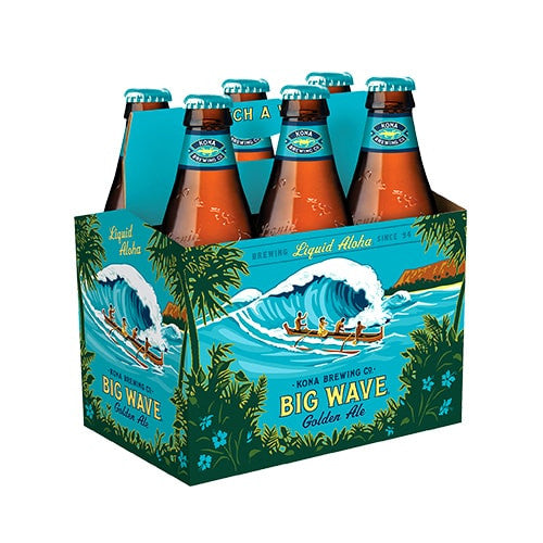 KONA BIG WAVE GOLDEN ALE (6 BOTTLE PACK)
