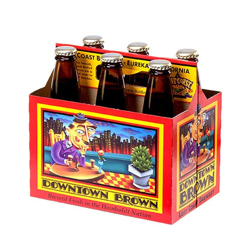 LOST COAST DOWNTOWN BROWN (6 BOTTLE PACK)
