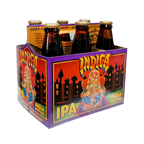 LOST COAST INDICA INDIA PALE ALE (6 BOTTLE PACK)