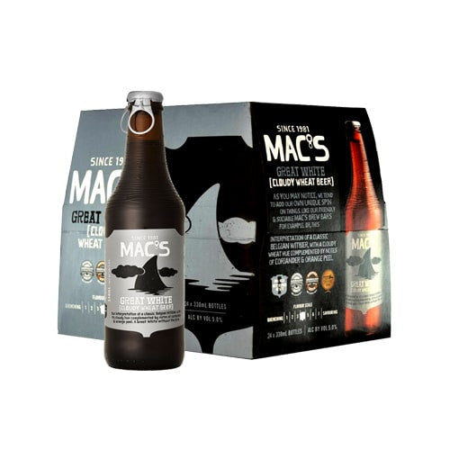 MAC'S GREAT WHITE (24 BOTTLE CARTON)