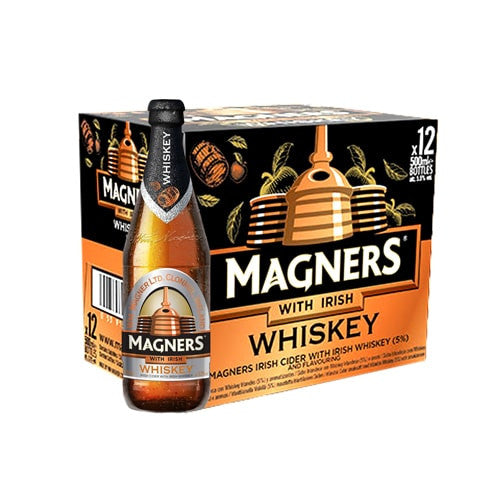 MAGNERS WHISKEY (12 BOTTLE BEER)
