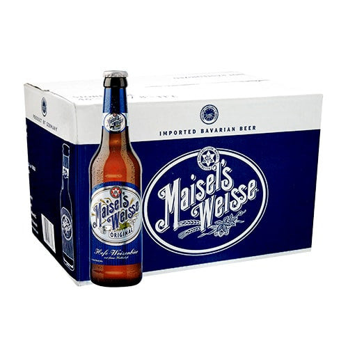 MAISEL WEISSE ORIGINAL (24 BOTTLE CARTON)