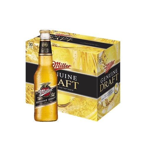 MILLER GENUINE DRAFT (24 BOTTLE CARTON)
