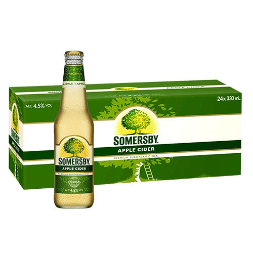 SOMERSBY APPLE CIDER (24 BOTTLE CARTON)