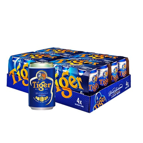 TIGER LAGER BEER (24 CAN CARTON)