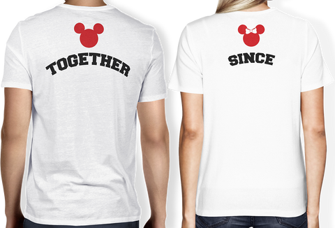 Together Since Couple Tee (Customizable)