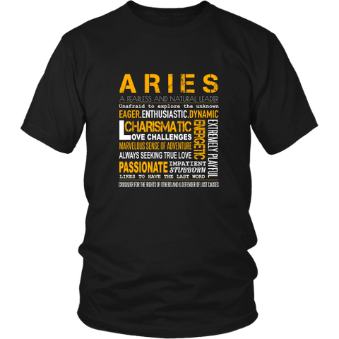 Aries Unisex T-shirt (Design 5)