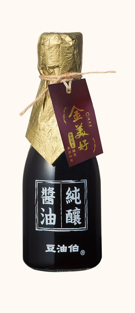 DYB Golden Black Naturally Brewed Soy Sauce /No Sugar Added 豆油伯金美好無添加糖釀造醬油 180ml