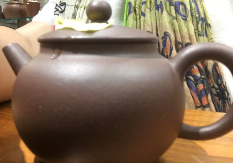 80's Purple Clay Tea Pot 80年代紫砂茶壺