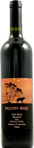 2006 Diggers Bluff Top dog Shiraz 750ml 迪格斯拉夫施赫2006