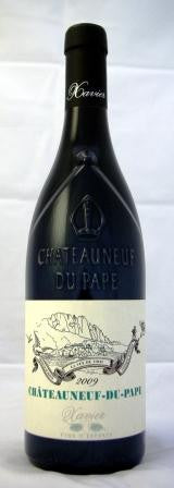 Xavier Vins Chateauneuf Du Pape Rouge 2009 夏维雅酒庄 教皇新堡红