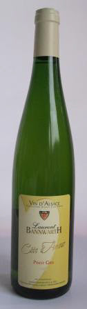 Laurent Banwarth Pinot Gris 2011 Cote d'Amour 羅蘭班威夫 愛慕庄園灰品諾 2011