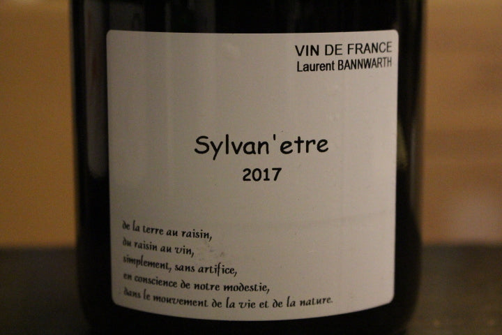 "Laurent Bannwarth Sylvan"" Etre 2017 羅蘭班威夫 蕭汪尼 2017 0.75"