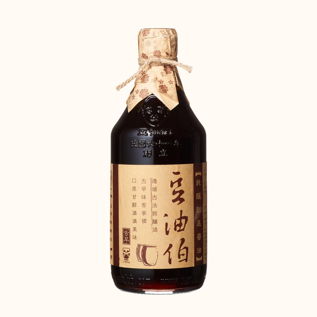 DYB Aged Artisan Naturally Brewed Soy Sauce 豆油伯缸底釀造醬油 500ml