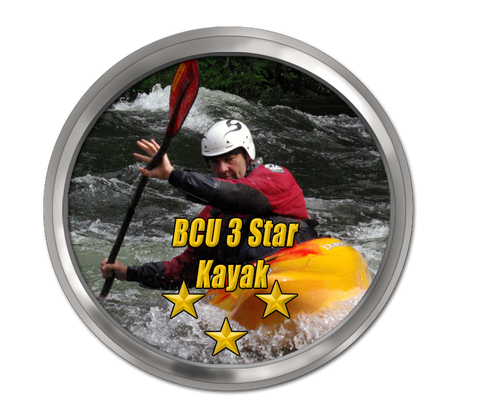 BCU 3 Star White Water Kayak Award Training and Assessment 2-day Course - LNC Activities and Training Ltd