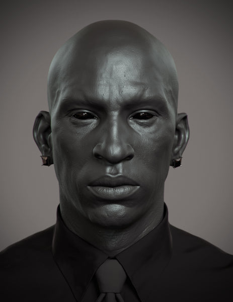Jonas Skoog / Black guy making of / 3D Artist issue 89