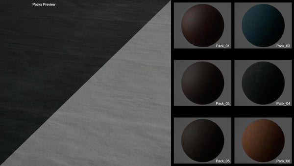 Seamless bundle leather #01 - Texturing.xyz