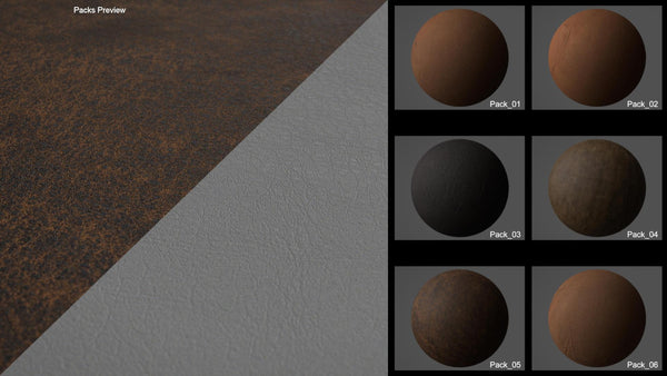 Seamless bundle leather #04 - Texturing.xyz