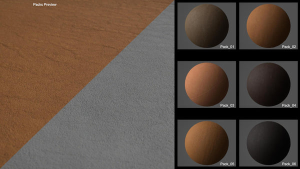 Seamless bundle leather #05 - Texturing.xyz
