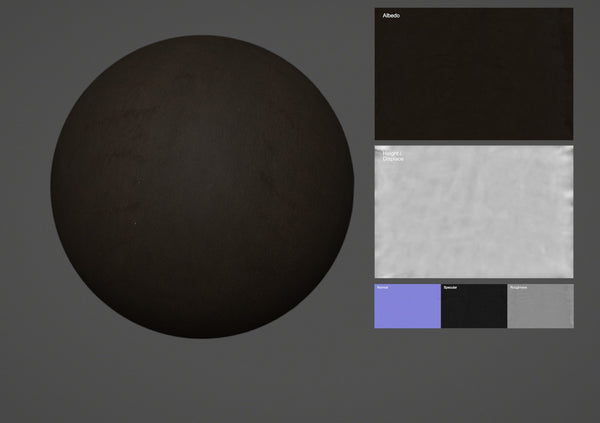 Sheep leather #02 - Texturing.xyz