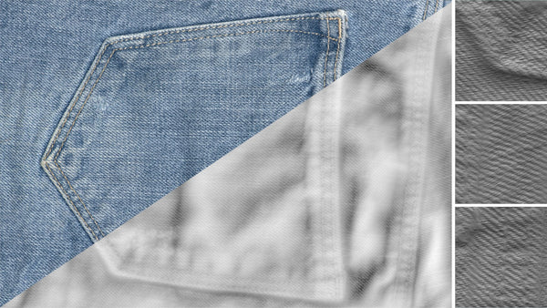 Denim close-up #08 - Texturing.xyz