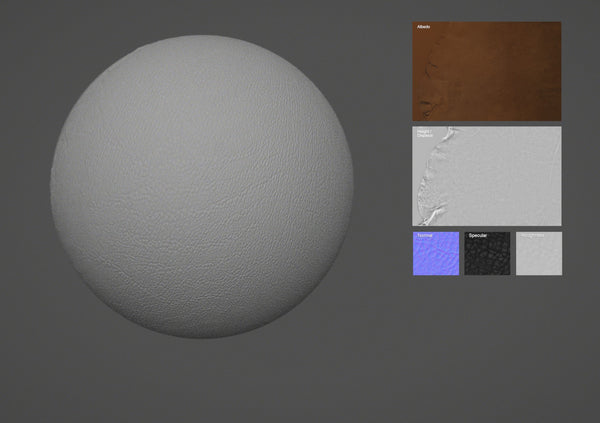 Lamb leather #08 - Texturing.xyz
