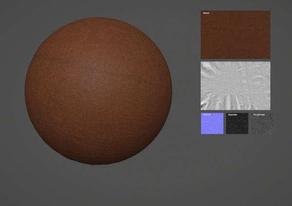Leather #06 - Texturing.xyz