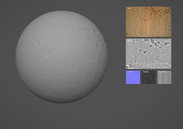 Agglomerated #03 - Texturing.xyz