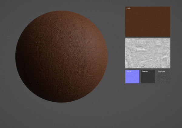 Leather #08 - Texturing.xyz