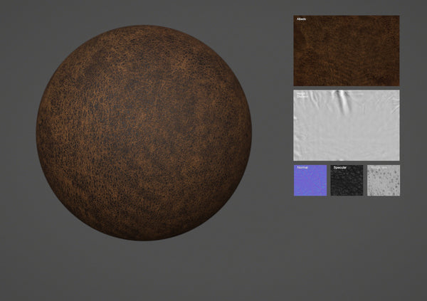 Lamb leather #30 - Texturing.xyz