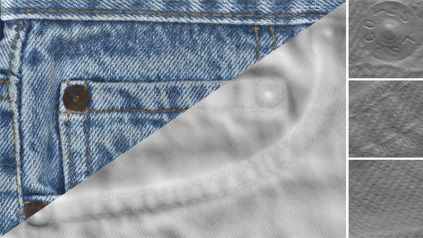 Denim close-up #03 - Texturing.xyz