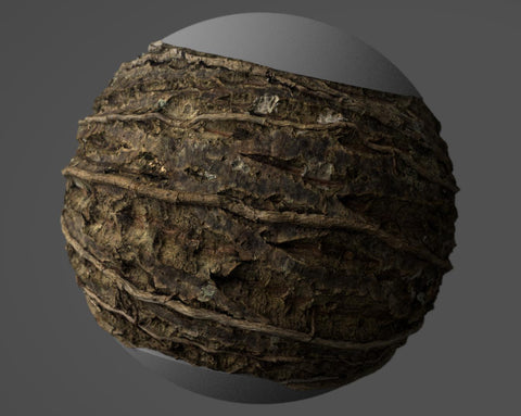 Tree bark #06 - Texturing.xyz
