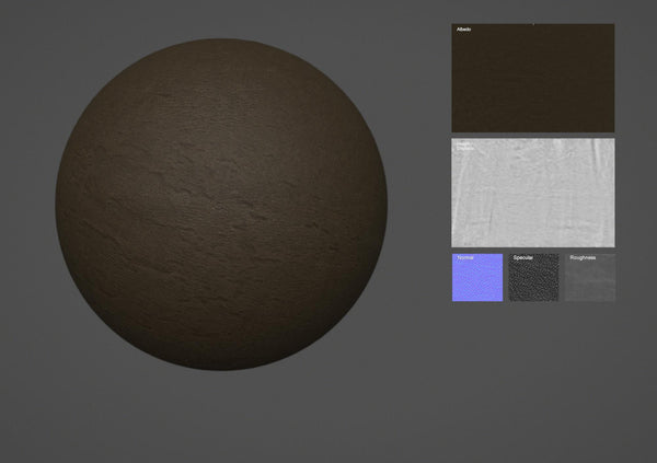 Leather #04 - Texturing.xyz
