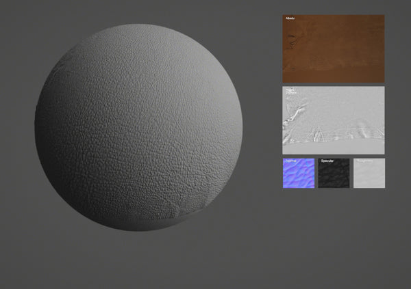 Lamb leather #07 - Texturing.xyz
