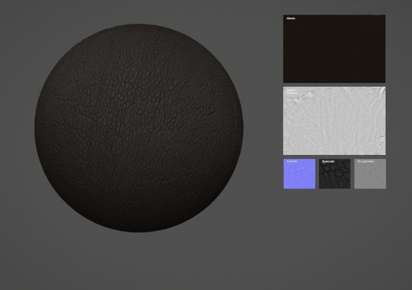Lamb leather #24 - Texturing.xyz