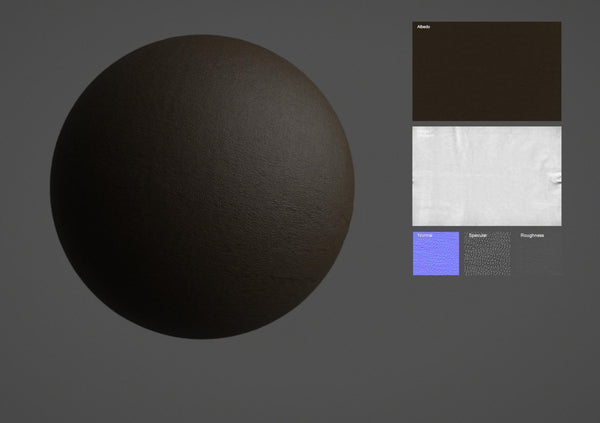 Leather #05 - Texturing.xyz