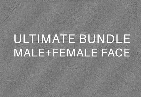Bundle ultimate Face Displacement #01