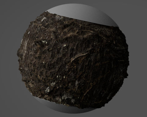 Cherry tree bark #01 - Texturing.xyz