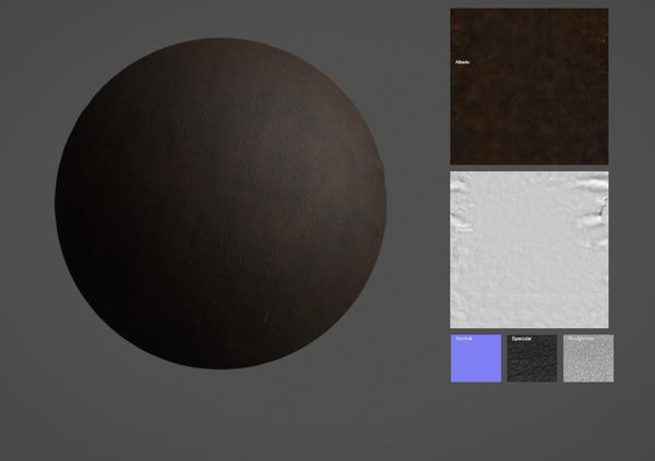Lamb leather #62 - Texturing.xyz