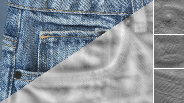 Denim close-up #05 - Texturing.xyz
