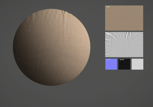 Leather #10 - Texturing.xyz