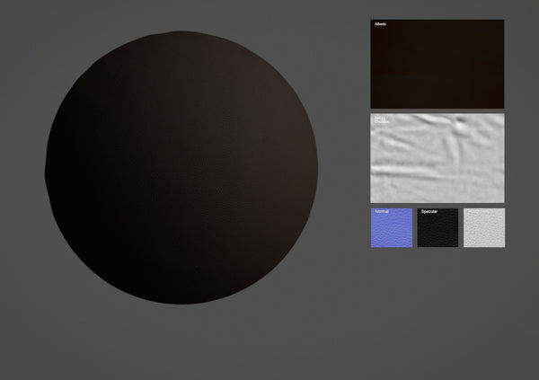 Cow leather #01 - Texturing.xyz